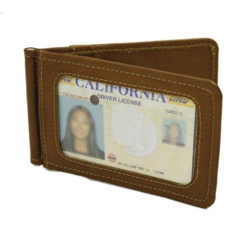 piel-leather-bi-fold-money-clip-with-id-window-saddle-one-size