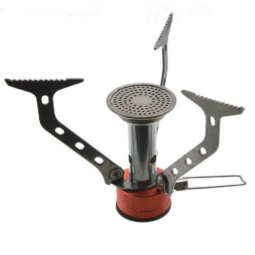 Housweety Lightweight Large Burner Classic Camping and Backpacking Stove For Sale