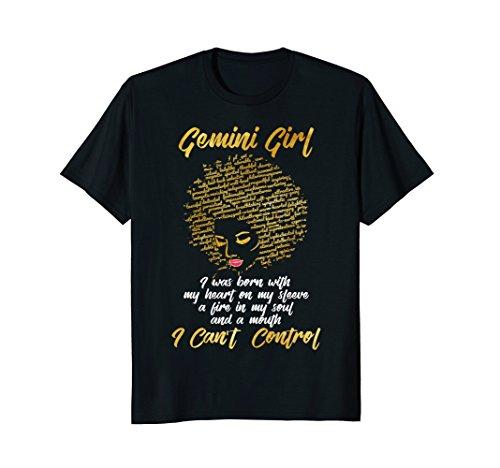 I'm a Gemini Girl Shirt Funny Birthday T-Shirt for - Gemini Girl
