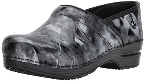 Sanita Women's Smart Step Piper Work Shoe, Black, 37 EU/6.5 M US