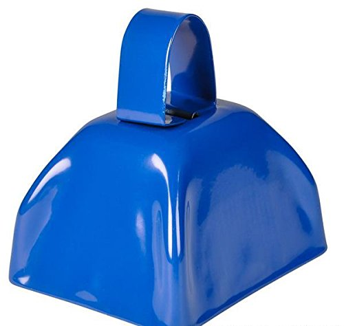 3'' BLUE METAL COWBELL, Case of 144 by DollarItemDirect (Image #1)
