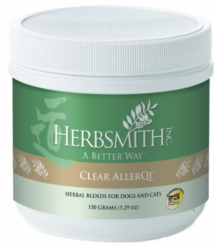 Herbsmith Clear AllerQi Herbal Supplement for Dogs and Cats, 150gm Powder, My Pet Supplies