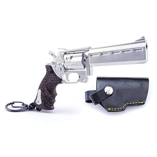 AWM AKM M16 M4A1 M82A1 Barrett MK60 MP5 famas Burst Bolt-Action Sniper AWM AKM Grenade Launcher Semi-Automatic Sniper Hunting Rifle Keychain Weapon Model