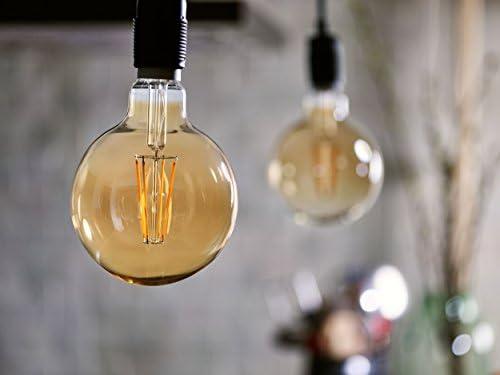 Flame E27 dimmbar 630 Lumen Philips LEDclassic Lampe Gold Vintage Retro-Design 8W=50W 2200 Kelvin Dekolampe