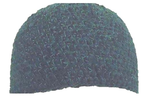 hand-crocheted-navy-blue-tweed-color-100-rayon-chenille-gimp-skull-cap