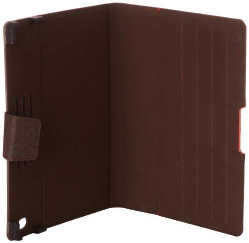 Samsonite  Mobile Pro Leather Pro Portfolio Ipad, Organizer per valigie  Unisex Marrone Marrone scuro 25 cm