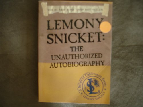 lemony snicket the unauthorized autobiography pdf