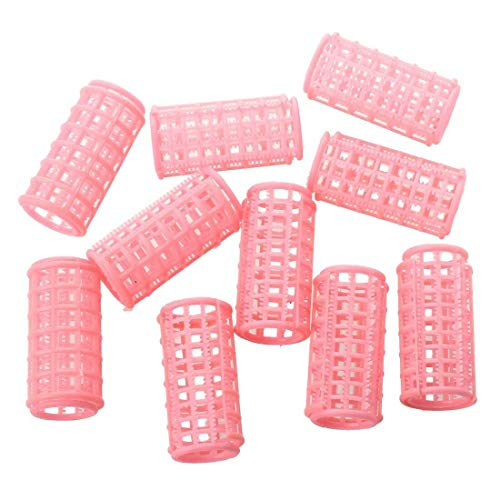 New Hot Sale 10 Pcs Lady P Plastic Magic Circle Hair Styling Roller Curler SS from Bazzano