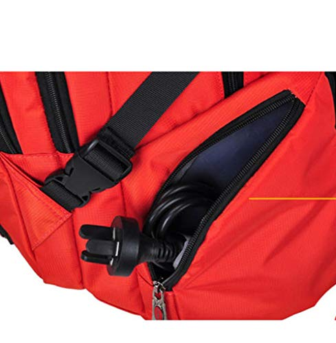 Travel Dhfud Leisure Large Bag Vibrantorange Men's Backpack Business Package Capacity PSqPwX