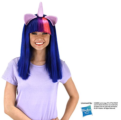 elope Twilight Sparkle Costume Wig with