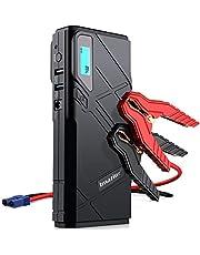 Imazing Booster Batterie,1500A 12000mAh Portable Jump Starter, Démarrage de Voiture ( Jusqu'à 8.0L Essence 6.0L Gazole ), Alimentation Eléctrique d'Urgence pour Voiture avec Lamp LED