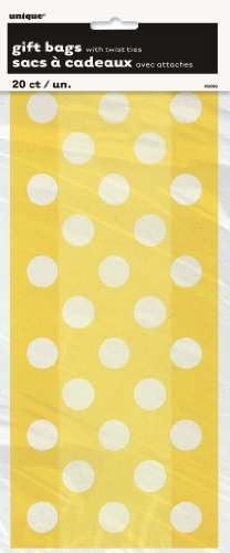 yellow-polka-dot-cellophane-bags-20ct