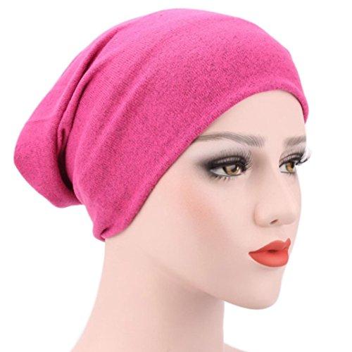 Egmy 2017 Women Muslim Stretch Turban Hat Chemo Cap Hair Loss Head Hijib Cap F ERAO8jig