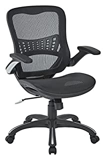 Office Star Mesh Back & Seat, 2-to-1 Synchro & Lumbar Support Managers Chair, Black (B01EHQ5GNS) | Amazon Products