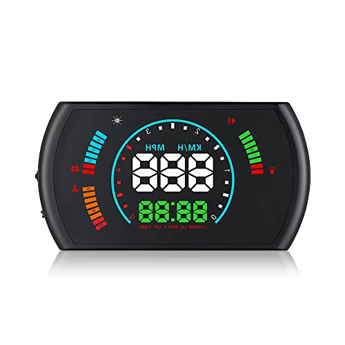 5.8'' S600 OBD2 HUD With Two Display Mode Car Heads Up Display Digital Speedometer Windshield Projector