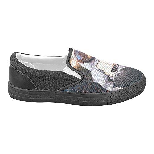 Unieke Debora Custom Fashion Dames Sneakers Ongebruikelijke Loafers Instappers Canvas Multicoloured12