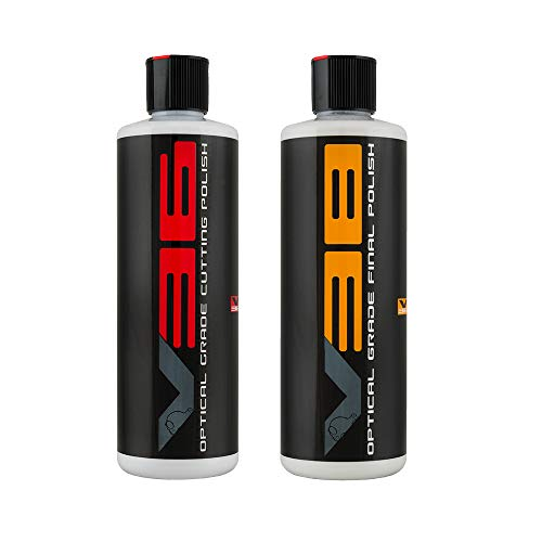 Chemical Guys Gap_VKIT_101 V36 Optical Grade Cutting Polish and V38 Final Polish (16 oz) (2 Items)