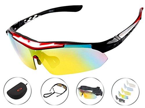 98a2007a4bf TooBike Polarized UV Protection Sports Sunglasses