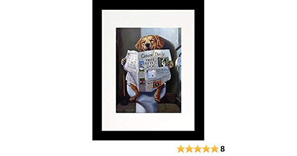 ALUONI 7x5ft Funny,Comic Dog with Glasses Requests Attention and Photographs Retro Backdrop for Photography Photo Background for Family Party Pictures Customized Photo Booth Studio Props AM014590