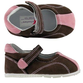 Jumping Brown Pink Preschoolians Sport Barefoot Mary Running Nubuck Jane 5rpWnW6zxc