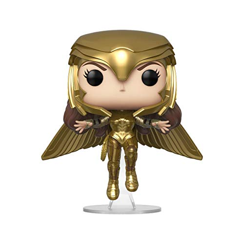 Funko Pop! Wonder Woman 1984- Wonder Woman, Multicolor (Gold Flying Pose)