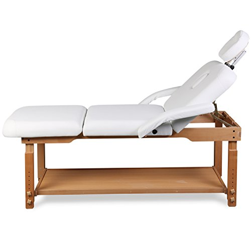 3 Sections Professional Stationary Massage Table Bed Beauty Therapy Salon Couch by Healthline Massage Products (Image #2)