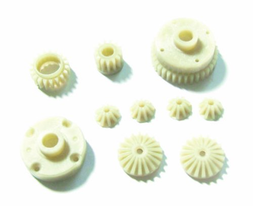 Redcat Racing Differential Main Gear, Idler Gear, Differential Pinion  Gear, Differential Large Bevel Gears, Differential  Small Bevel Gears and Differential Inner Mount