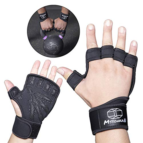 MSSOHKAN Gym Gloves Weightlifting Gloves Exercise Gloves for Men &