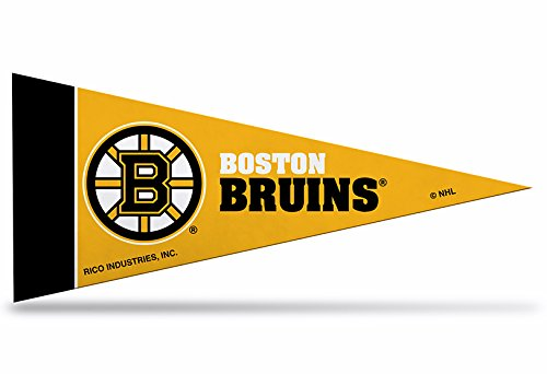 Zipperstop Officially Licensed NHL Bruins Mini Pennant, 4