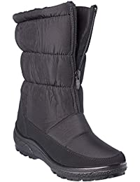 wolfsburg5 Womens Winter Boots Mid-Cap Fur Lining Cold-Weather Shoes