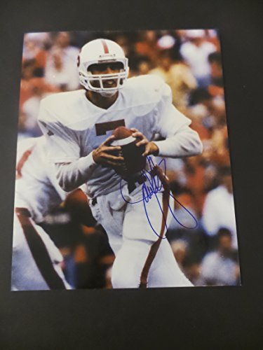 (John Elway Signed Stanford Cardinals s Autographed 8x10 Photograph)