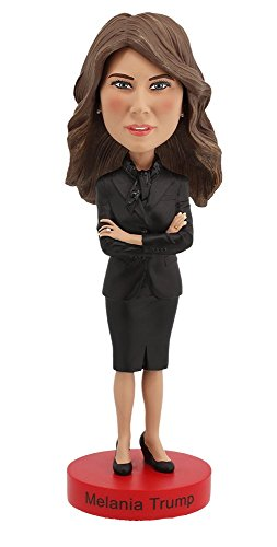 Royal Bobbles Melania Trump Bobblehead, Collectible Bobblehead Figurines