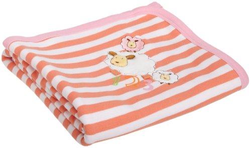 ABSORBA Baby-Girls Newborn Tender Touch Blanket