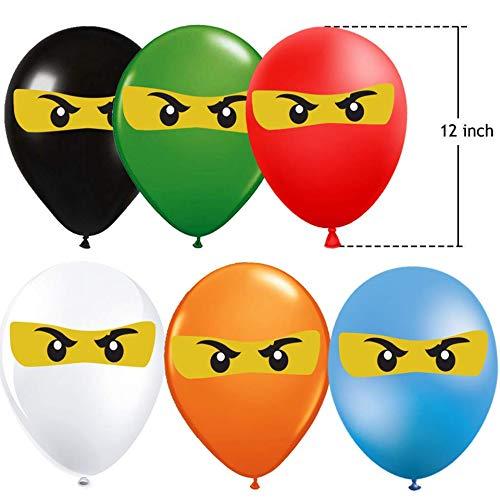 Lego Ninjago Balloons Birthday Party Supplies 42