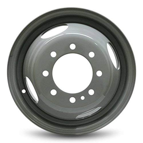Bill Smith Auto Parts Replacement For 1999-2004 Ford F350SD 16 Inch 8 Lug Gray Steel Rim Fits R16 Tire - Exact OEM Replacement - Full-Size Spare ()