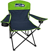 Rawlings NFL XL Lineman Tailgate and Camping Folding Chair, Seattle Seahawks