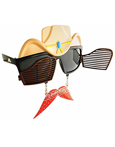 Western Cowboy Sunglasses - Shark Sunglasses Tank
