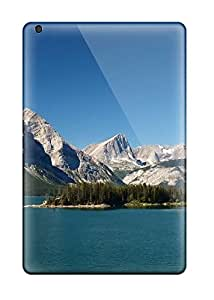 premium Phone Case For Ipad Mini 3/ Mountains And Calm Lake Tpu Case Cover 4161689K59086727