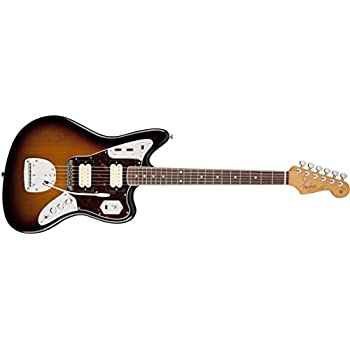 Fender Kurt Cobain Jaguar NOS 3 Tone Sunburst Solid-Body Electric Guitar