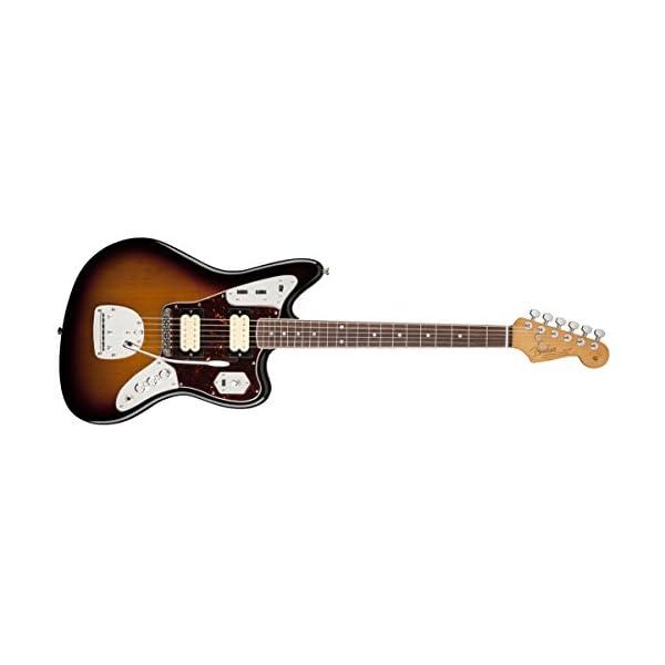 Fender 0143001700 Kurt Cobain Jaguar Rosewood Fingerboard Electric Guitar – Sunburst