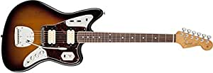 Fender Kurt Cobain Jaguar NOS 3 Tone Sunburst Solid-Body Electric Guitar