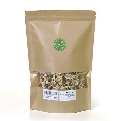 GOARTEA 100g (3.5 Oz) Organic Premium Huangshan GongJu tribute chrysanthemum Flower Floral Herbal Chinese Tea