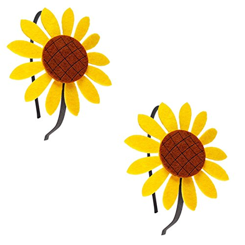 2 Pie (Sunflower Costume Headband)