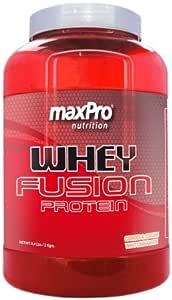 100% whey protein fusion maxPro 2KG: Amazon.es: Salud y ...