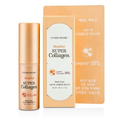 [Etude House Moistfull Collagen Facial Stick 14G] (Moisture Stick)