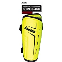 Franklin Sports Superlight Shin Guards-Optic Yellow