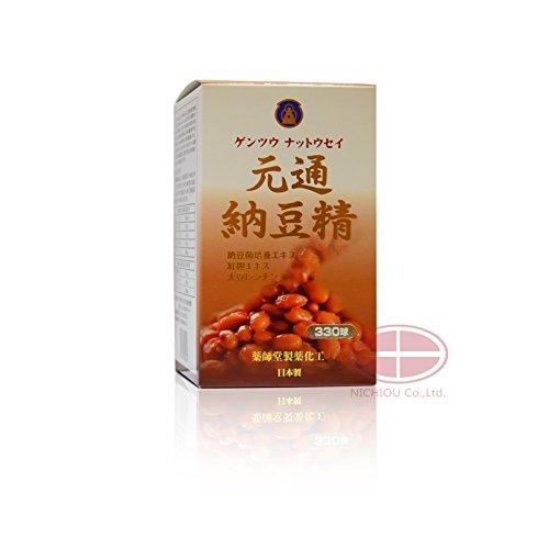 薬師堂製薬 元通納豆精(ゲンツウナットウセイ) 330球 (1) B077NXLMNM