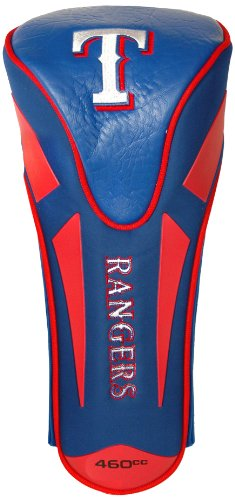Team Golf MLB Texas Rangers Golf Club Single Apex Driver Headcover, Fits All Oversized Clubs, Truly Sleek Design ()