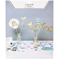 Mermaid Photobooth 44Pcs Prop Kit by Cakewalk