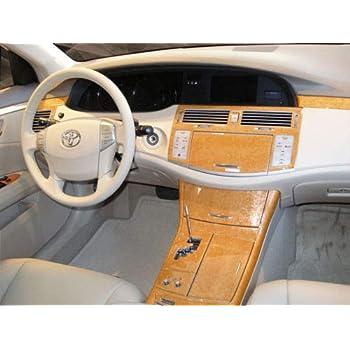 Toyota RAV4 2006 2007 2008 2009 2010 2011 2012 With OR W//O Navigation System Interior Set Burl Wood Dash Trim Kit 50 Pcs TOYRAV4-06A